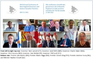 New England Governors and Eastern Canadian Premiers Meet Virtually to Build on Cross Border Relationship